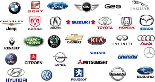 A támogatott autótípusok