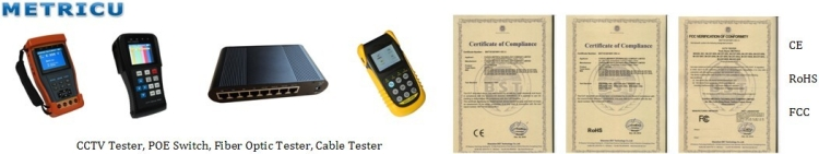 METRICU termékek és minőségbiztosítási dokumentumok